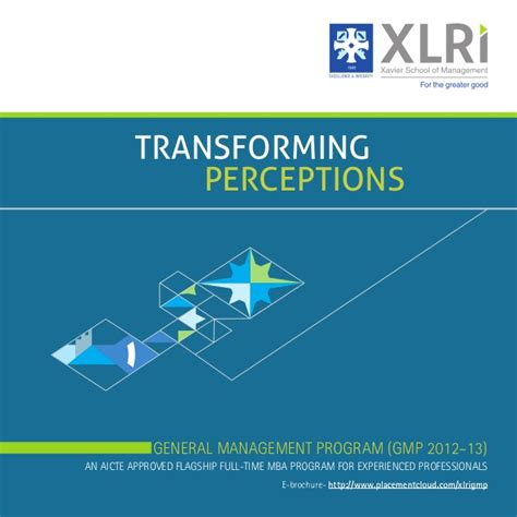 Xlri Executive Mba Course Fee by Xlri Jamshedpur Placement Brochure 2013 General