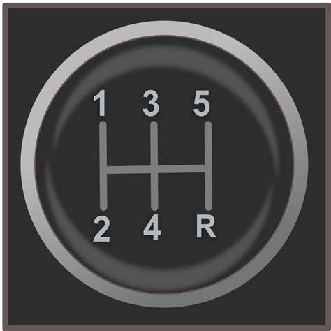 gear shift knob icon   svg   vector