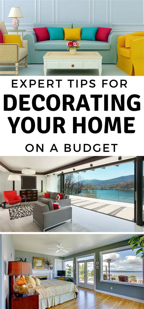 expert tips for decorating on a budget