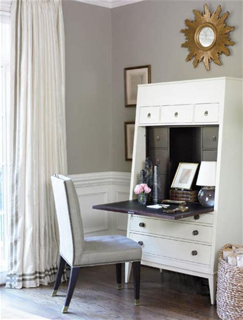 gray secretaire desk contemporary living room kikis list