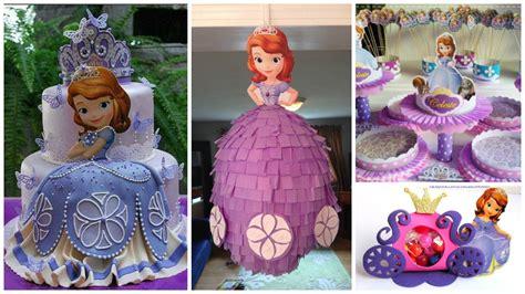 cumplea 241 os decorado de princesa sof 237 a tips de madre como hacer una fiesta de la princesita sofia preciosa