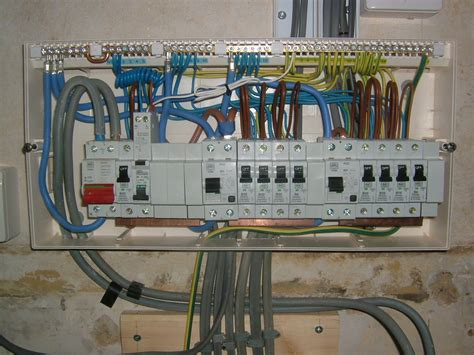 consumer unit wired
