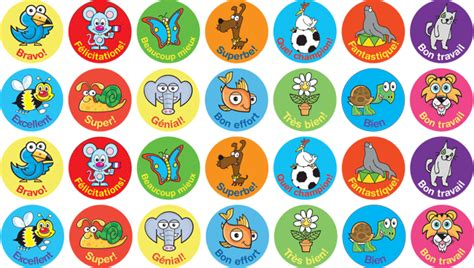 Wall Stickers Design Your Own the language stickers company primary french resources