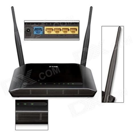 Router Dlink 612 d link dir 612b 300mbps ieee 802 11n b g wi fi antenna wireless router black free