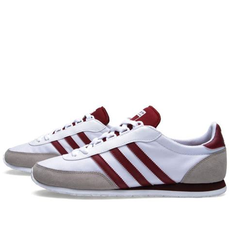 adidas vintage shoes adidas potosino running white cardinal retro trainer