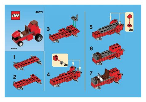 lego boat directions instructions brickextra page 2