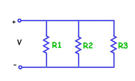 resistor are both connected in parallel across a power supply physics for resistors in series and parallel