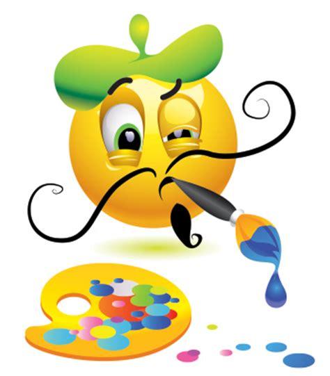 Painting Emoji by Painter Emoticon Symbols Emoticons