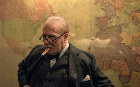 gary oldman s a one man churchill show in darkest hour darkest hour review gary oldman s churchill will
