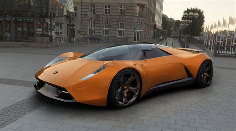What Was The Lamborghini Car Lamborghini Insecta Design Study
