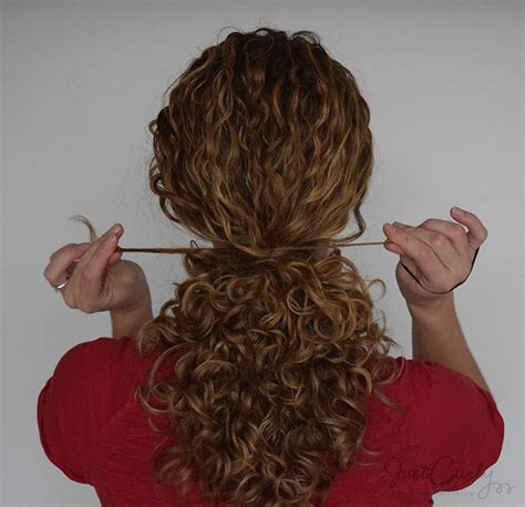 curl pattern messed up pulling back curly hair without destroying its curls pattern
