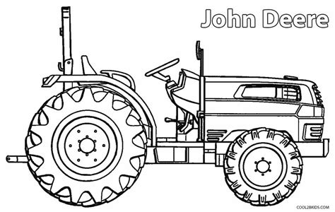 Coloring Page Of John Deere Tractor | printable john deere coloring pages for kids cool2bkids