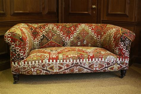 kilim sofas kelim kilim upholstered antique chesterfield by leather