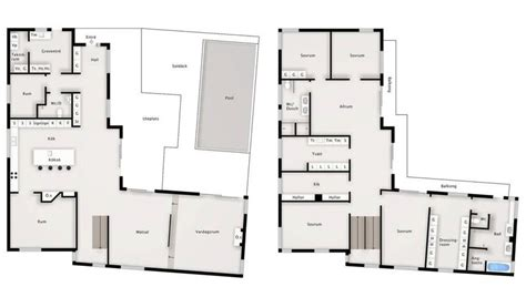small villa floor plans modern villa floor plans modern