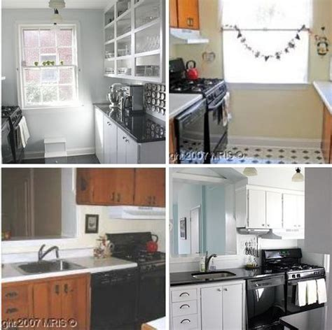 small apartment kitchen appliances small galley kitchen before after a modest galley kitchen makeover therapy