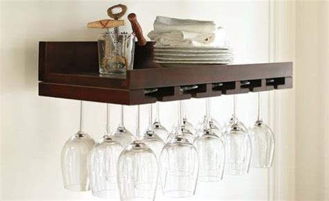 wine glass shelf plans woodworking projects plans