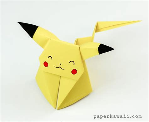 Pokã Mon Origami - origami pikachu tutorial origami origami