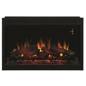 Home Depot Gas Fireplace Inserts by 36 In Traditional Built In Electric Fireplace Insert