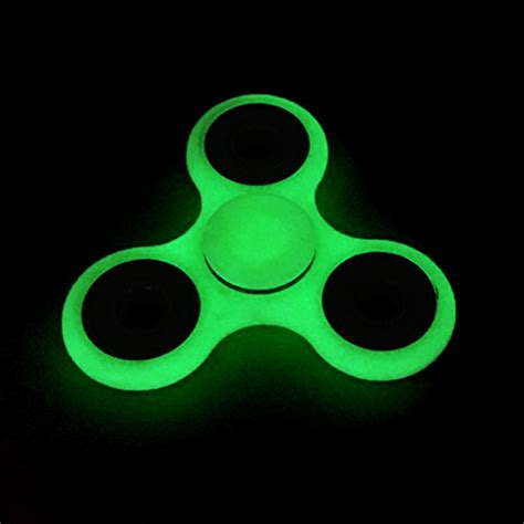 Fidget Spinner Glow In The Bearing Besi glow in the fidget spinner stress reducer desk spinner fidget ebay
