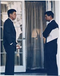 Jfk Oval Office File President With Attorney General President Kennedy