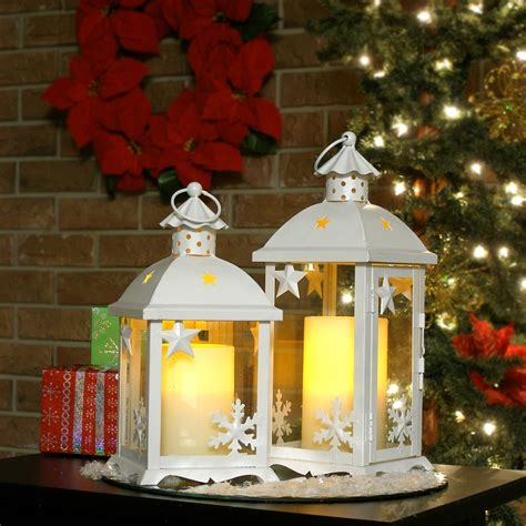 small candle table ls pacific accents flameless winter lanterns shopflipo com