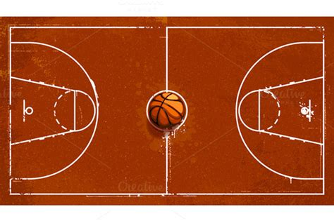 Basketball Arena Floor Plan Basketball Court Images Free Court Clipart