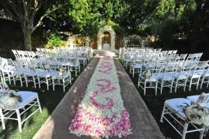 Unique Backyard Wedding Ideas Outdoor Wedding Aisle Runner Ideas