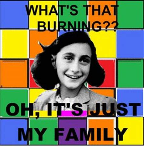 Anne Frank Meme - anne frank hitler meme art pinterest medium jokes