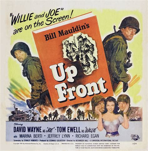 Film Up The Front | up front