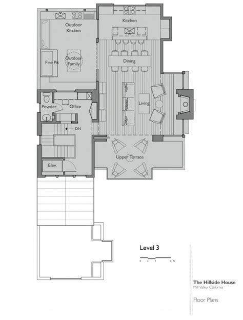 hillside floor plans hillside house by sb architects homedsgn