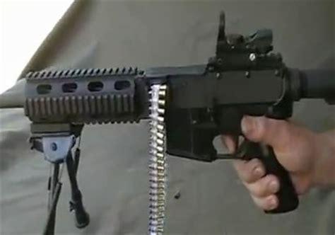 belt fed .22 lr ar 15 upper receiver