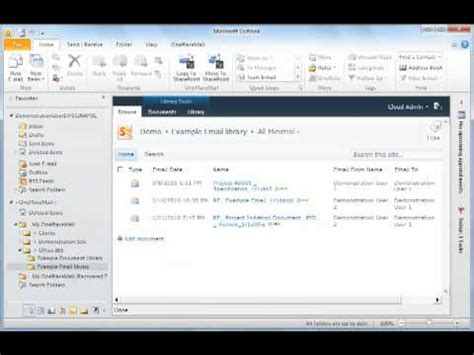 Office 365 Outlook Webex Outlook 2010 How To Archive My Emails For Office 365