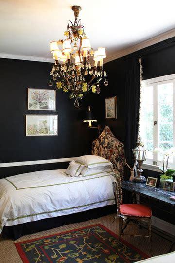 black walls black walls