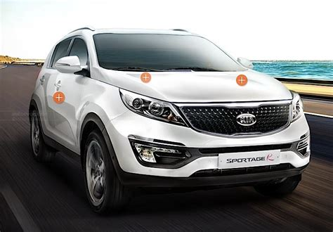Korea Kia Refreshed Kia Sportage R Debuts In Korea Autoevolution