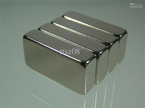 Magnet Neodymium N52 20x4mm gro 223 handel block 1 1 2 1 4 n52 neodym magneten seltene erden permanent starkes handwerk