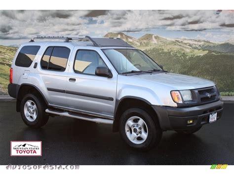 2001 nissan xterra se 2001 nissan xterra se v6 4x4 in silver ice metallic 570758 autos of asia japanese and