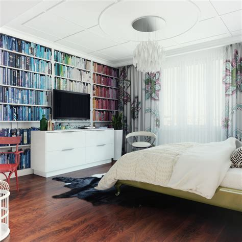 understated bedroom decor pop art interior design ideas pop art style apartment decorating cacophony of color