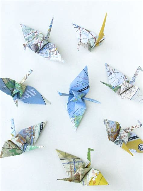 Map Origami Paper - 57 best images about origami on origami birds