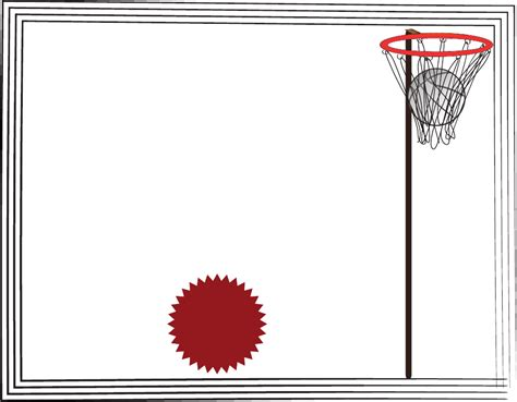download netball certificate template for free formtemplate