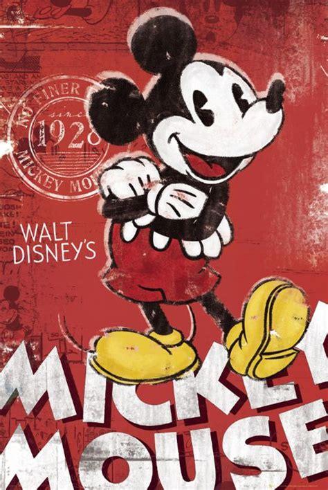imagenes vintage mickey mickey mouse tv show poster print vintage retro