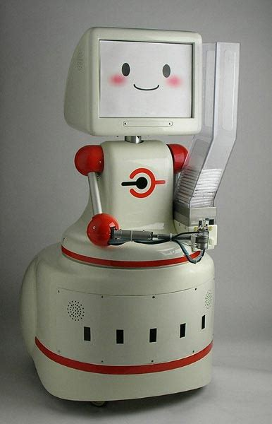 Tissue Dispensing Robot On The Prowl In Japan by Robot Tissue Dispensing Robot Mospeng Kun Robotics Today
