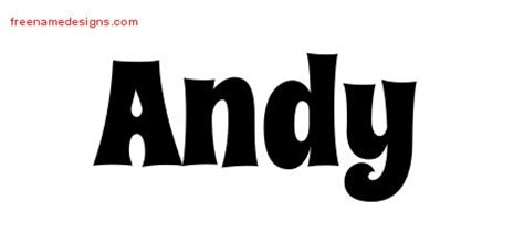 andy archives free name designs