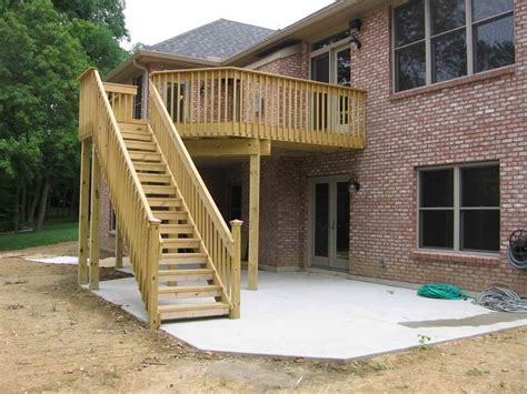 building a backyard deck planning ideas build small backyard elevated deck