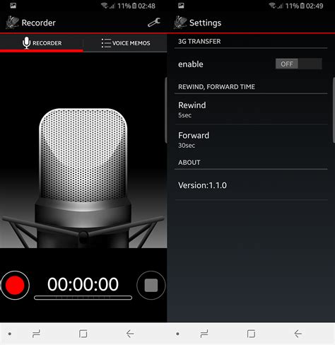 voice recorder app android best android voice recording apps