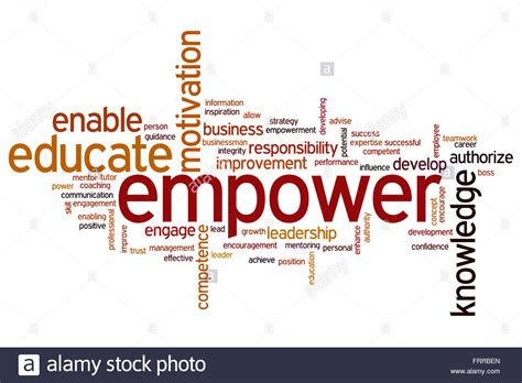 empower your purpose 7 to achieve success and fulfill your destiny books empower concept word cloud background stock photo royalty