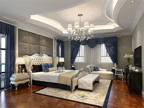 simple european style bedroom ceiling decoration ideas