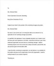sample resume cover letter 6 documents in pdf word