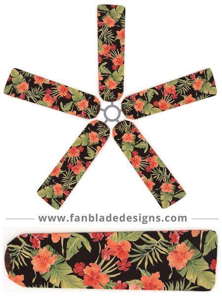 fan blade covers tropical buy floral ceiling fan covers fan blade designs