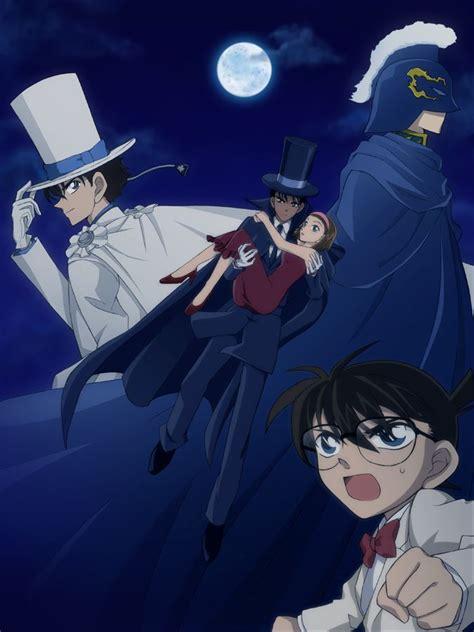 Tenun Baron 2d B1 makoto dressed as baron carrying sonoko detective conan magic kaito