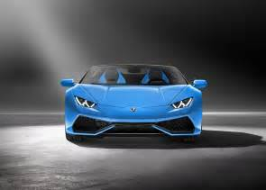 Lamborghini Spyder Official Lamborghini Spyder Huracan 2016 New Photos And